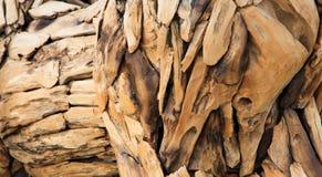 Arte di legno del pezzo Fotografia Stock