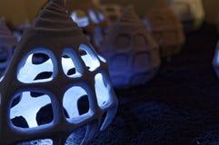 Arte di luce e della scultura Immagine Stock Libera da Diritti