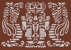 Arte di maya Fotografia Stock