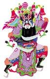 Arte di piega cinese, taglio di carta Fotografia Stock
