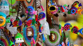 Arte di piega messicana Immagine Stock