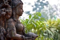 Arte di pietra in India immagine stock