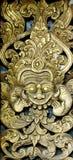 Arte di scultura tailandese Fotografia Stock
