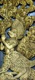 Arte di scultura tailandese Fotografie Stock Libere da Diritti
