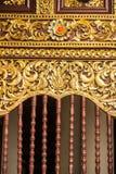 Arte di scultura tailandese Fotografia Stock Libera da Diritti