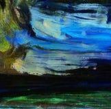 Arte di struttura dell'estratto della miscela di colore dell'impressione Backg luminoso artistico illustrazione di stock