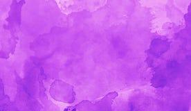 Arte di struttura dell'estratto della viola dell'acquerello dell'impressione Bacground luminoso artistico royalty illustrazione gratis