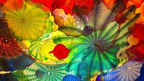 Arte di vetro colorata Fotografia Stock Libera da Diritti