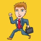 Arte di vettore degli impiegati di ufficio Fotografia Stock Libera da Diritti