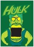 Arte di vettore di Hulk royalty illustrazione gratis