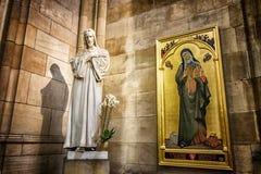 Arte di Vitus Cathedral del san Fotografia Stock