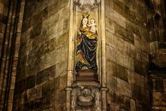 Arte di Vitus Cathedral del san Immagine Stock Libera da Diritti