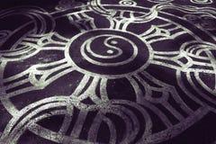 Arte di yin yang Immagine Stock
