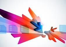 Arte digital abstracto Fotografía de archivo libre de regalías