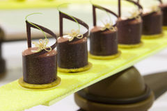 Arte do alimento de dedo Fotos de Stock