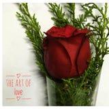 Arte do amor fotografia de stock royalty free