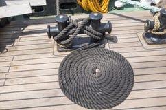 A arte do barqueiro Imagem de Stock
