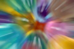 Arte do borrão de movimento foto de stock