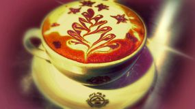 Arte do café fotografia de stock royalty free