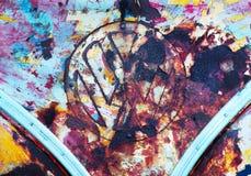 Arte do carro Foto de Stock Royalty Free