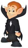 Vampiro dos desenhos animados - ilustração do vetor Fotografia de Stock