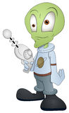 Caráter estrangeiro dos desenhos animados - ilustração do vetor Fotografia de Stock Royalty Free