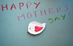 Arte do dia de mães de Hapyy Fotos de Stock