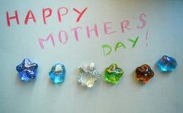 Arte do dia de mães de Hapyy Foto de Stock Royalty Free