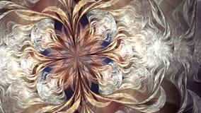 Arte do fractal de Argus da nuvem ilustração stock