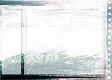 Arte do fundo da página do mar Imagens de Stock Royalty Free