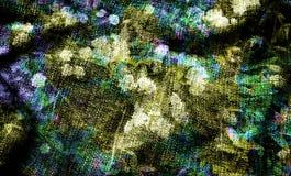 Arte do fundo de Digitas do teste padrão floral/flor ilustração royalty free