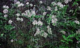 Arte do fundo de Digitas do teste padrão floral/flor ilustração do vetor