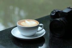Arte do Latte imagem de stock