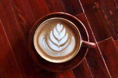 Arte do Latte Fotos de Stock Royalty Free