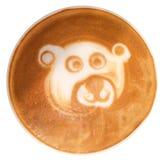 Arte do Latte Imagens de Stock