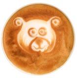 Arte do Latte Fotos de Stock