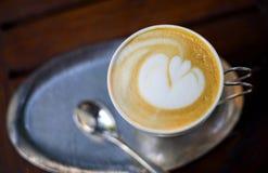 Arte do Latte Imagens de Stock Royalty Free