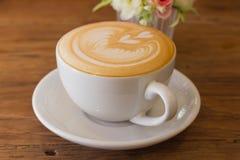 Arte do latte do café Imagens de Stock