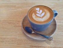Arte do latte do café Foto de Stock Royalty Free
