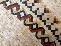 Arte do mosaico de Madaba Fotos de Stock Royalty Free