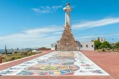 Arte do mosaico na reserva de Donkin ao longo da rota 67 imagens de stock