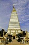 Arte do pagode de Tailândia Foto de Stock Royalty Free
