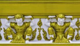 Arte do pagode de Tailândia Foto de Stock