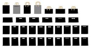 Arte do saco ilustração stock