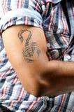 Arte do tatuagem Imagem de Stock