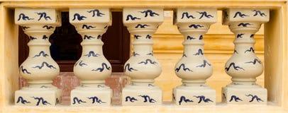 Arte do templo imagem de stock