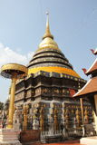 Arte do templo Fotografia de Stock Royalty Free