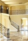 Arte do teto em uma mansão Fotos de Stock Royalty Free