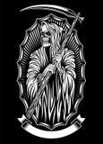 Arte do vetor do Ceifador Imagens de Stock Royalty Free