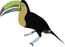 Arte do vetor do vetor do pássaro Fotos de Stock